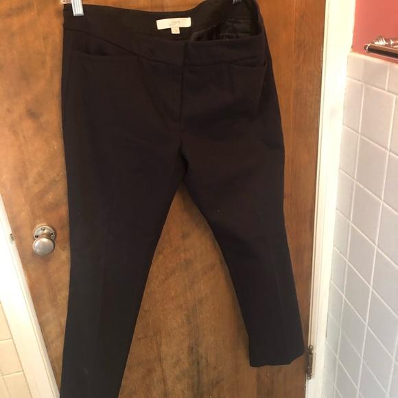 LOFT Pants - LOFT Black size 6 Marissa
